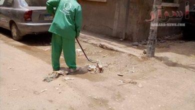 صورة الغربية : حملات نظافة مكبرة يشنها رئيس حى ثان طنطا بعدد من الشوارع