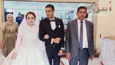 صورة تهانى للعروسين بالغربية
