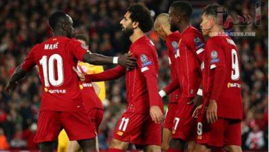 صورة ماني محظوظ كوني ألعب بجوار محمد صلاح وفيرمينو في ليفربول