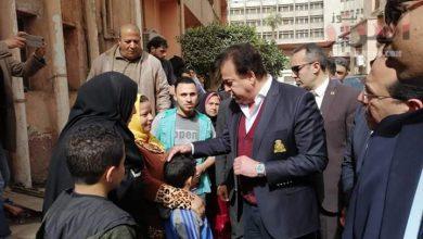 صورة وزير التعليم العالي فى زيارة مفاجئة لمحافظة الغربية لتفقد المستشفيات الجامعية