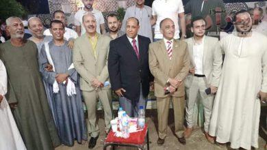 صورة السيدة كريمة العربى تدعوا بالتوفيق لاحباب الامام العربى فى انتخابات الشيوخ
