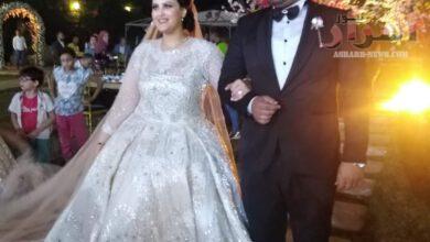 صورة الاعلامية شيماء نعمان تهنئ العروسين