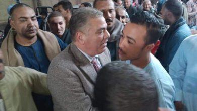 صورة مؤتمر حاشد لمرشح فرشوط خالد ابونحول بنجع القاضى
