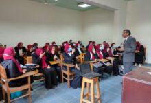 صورة ندوة لمركز غرب الاسكندرية حول تنمية مهارات الاتصال للطلاب
