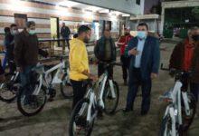 صورة الشباب والرياضة الانتهاء من توزيع 900 دراجة فى المرحلة الثالثة من مبادرة دراجتك .. صحتك