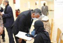 صورة جولة تفقدية لرئيس جامعة جنوب الوادي بلجان الامتحانات في يومها الاول