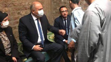 صورة محافظ قنا يقدم واجب العزاء لأسرة عامل بفرشوط توفي أثناء عمله