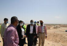 صورة بدء العمل في تنفيذ محطة معالجة صرف صحي سمهود ومشروع توسعات محطة معالجة أبو تشت بقنا